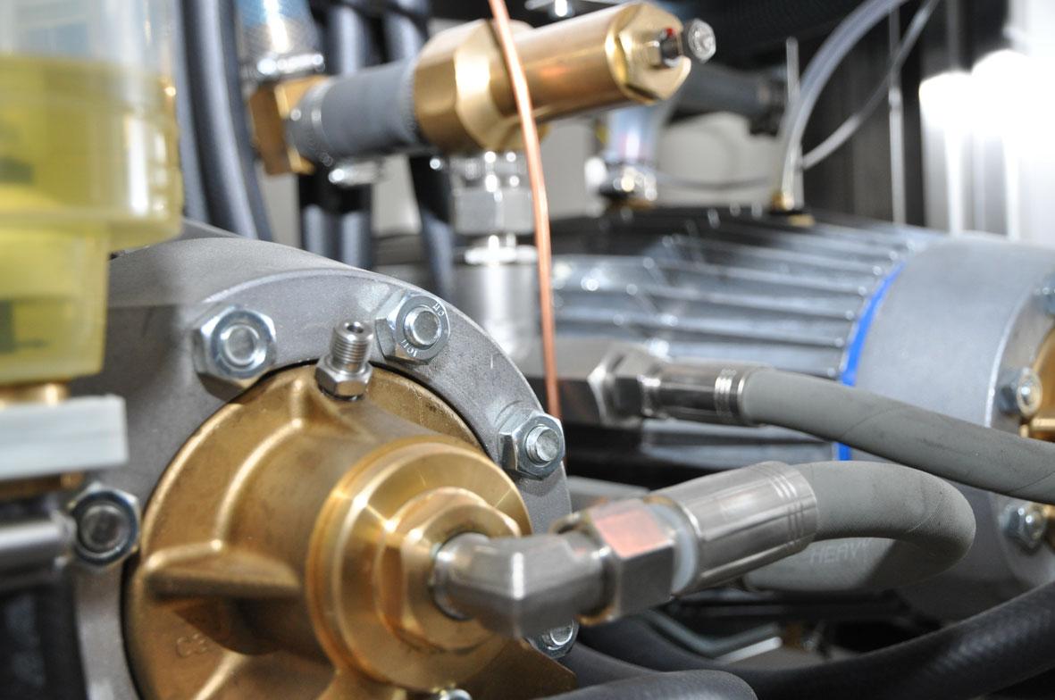 Rohrleitungssystem für eine Hochdruckanlage