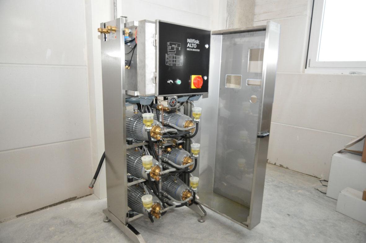 Nilfisk-Alto Hochdruckstation