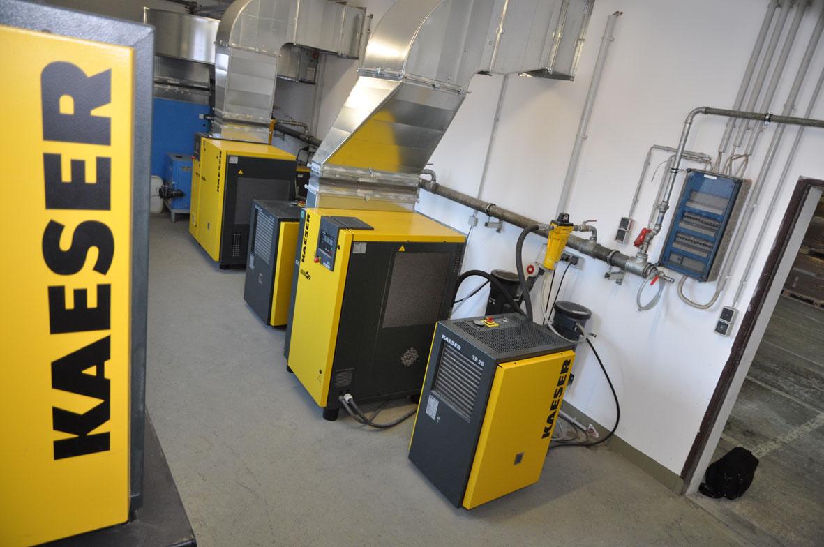 Kaeser Druckluftmodule für Ihre Hochdruckstation
