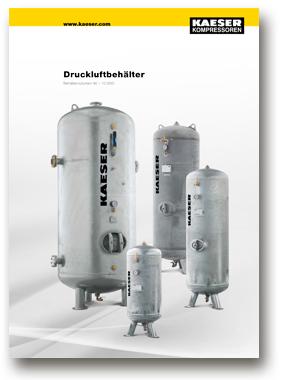 Kaeser Kompressoren Druckluftbehälter